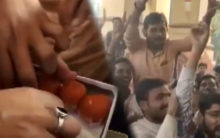 BHU students celebrate after Prof Khan resigns
