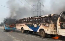 Bengal's Howrah burns in protest against CAA