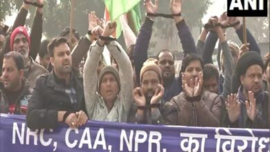 Photo of Protest in Delhi's Jor Bagh for Bhim Army chief's release