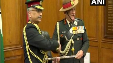 Photo of Lt Gen MM Naravane takes over as 28th Army chief