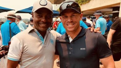 Photo of 735 not out: Brian Lara on meeting with Warner