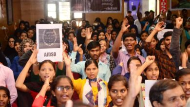 Photo of AIDSO organizes massive convention to oppose CAA, NRC