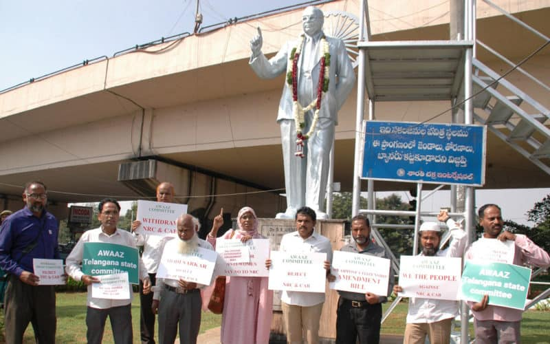 Anti-CAB protests hit Hyderabad too