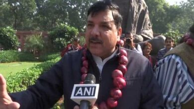 Photo of Central govt involved in big onion scam: AAP MP Sanjay  Singh