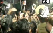Chidambaram walks out of Tihar jail