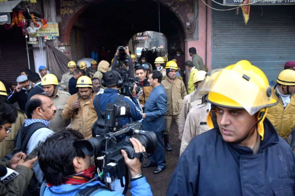 Casualty scale of Delhi fire stuns hospital staff