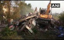 Indore Municipal Corporation demolishes Jitu Soni's bungalow