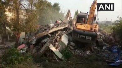 Photo of Indore Municipal Corporation demolishes Jitu Soni's bungalow