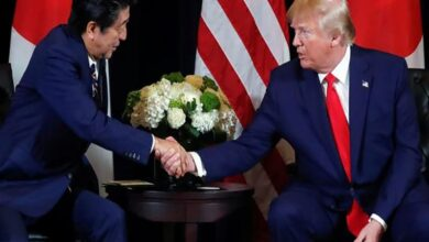 Photo of Trump, Abe hold telephonic talks, discuss North Korea