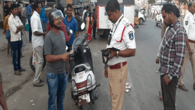 Hyderabad: Over 2000 motorists held for faulty number plates