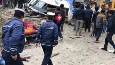 Photo of Nepal: Death toll in Sindhupalchok's bus accident rises to 14