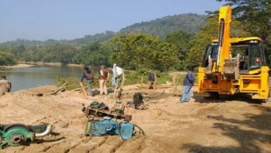 Photo of Assam forest dept raids 5 sand mounds in Kamrup