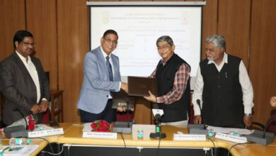 Photo of MANUU –  NALSAR sign MoU to develop e-content for MOOCs
