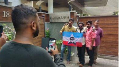 Photo of Fans celebrate superstar Rajinikanth's birthday as he turns 70