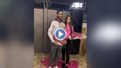 Photo of Cricketer Hasan Ali, his Indian bride welcomed in Pakistan
