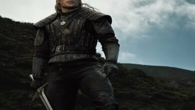 Photo of Henry dehydrated for days to nail shirtless 'The Witcher' scenes