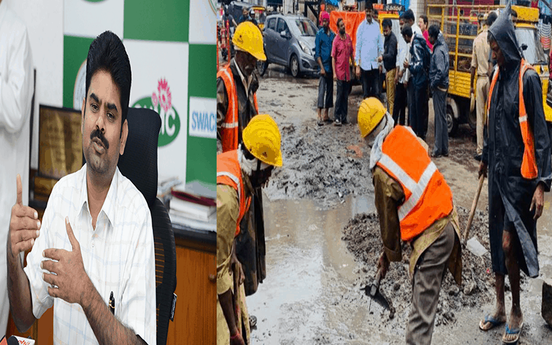 Hyderabad road works from Dec 10