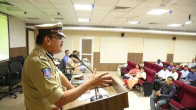 Photo of Hyderabad City Police advisory for New Year celebrations