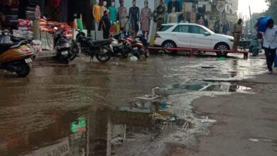 Photo of Sewage overflow affecting Charminar