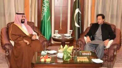 Photo of Imran discusses bilateral ties, security with Saudi Crown Prince