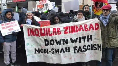 Photo of CAA-NRC: Protest held in front of Indian Consulate in Toronto