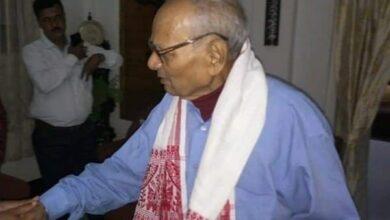 Photo of Former Assam BJP president Indramoni Bora passes away at 81
