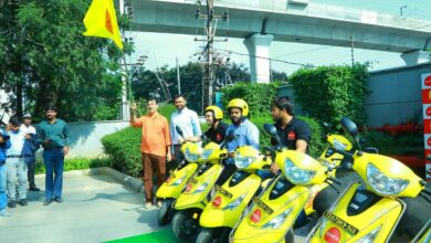 Photo of Bounce launches dockless scooter sharing service in Hyderabad