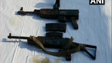 Photo of Cache of arms recovered in Kashmir's Sopore