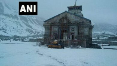 Photo of Kedarnath, Badrinath wrapped in thick blanket of snow