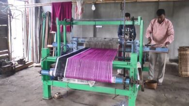 Photo of Manipuri man brings new invention of handloom industry