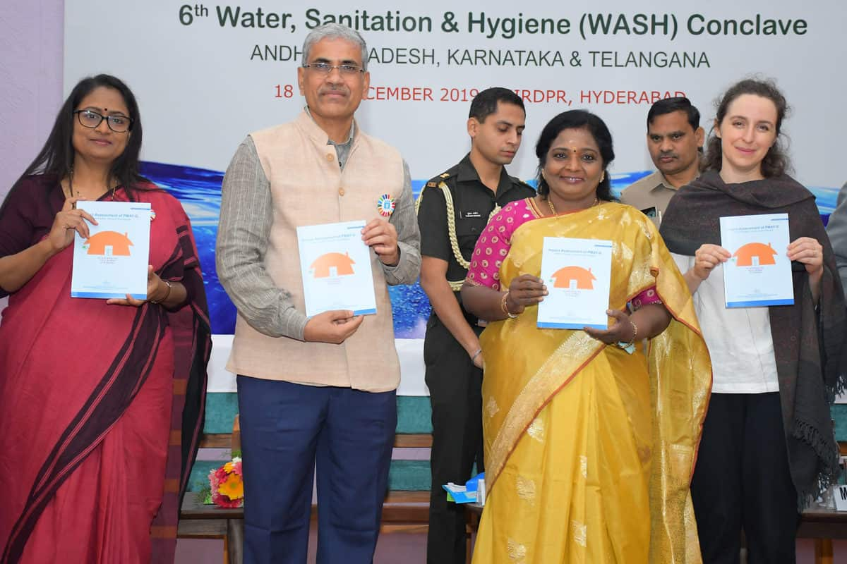 NIRDPR hosts wash conclave for Telangana, AP, and Karnataka