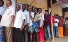 Local body polls: Voting underway at polling stations in Madurai