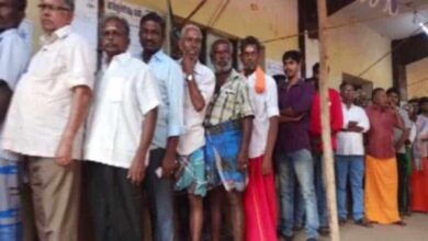 Photo of Local body polls: Voting underway at polling stations in Madurai
