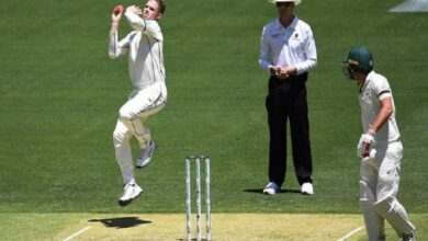 Photo of Perth Test: Ferguson won't bowl due to injury