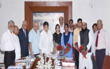 129th Governing council meeting of MJCET held