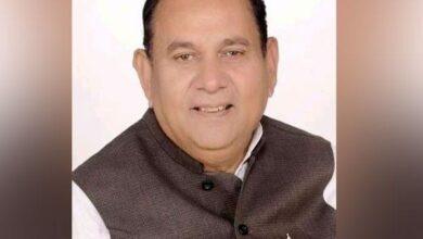 Photo of MP: Congress MLA Banwari Lal Sharma passes away
