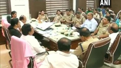 Photo of TS HM holds high-level meeting on Women and Children's safety