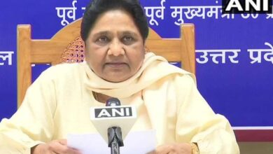 Photo of Mayawati to address election rally in Delhi today