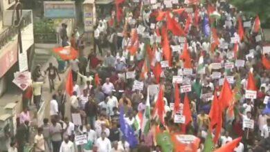 """Photo of Pro-CAA BJP rally raises """"Goli maaro s**lo ko"""" slogans"""