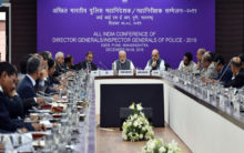 Modi, Shah, Doval attend All India Conference of DGPs, IGPs