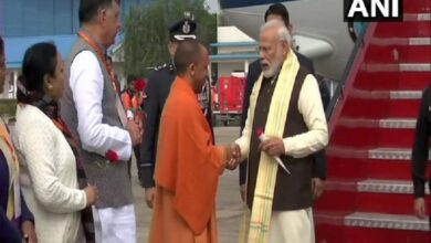 Photo of PM Modi arrives in Kanpur to chair National Ganga Council meet
