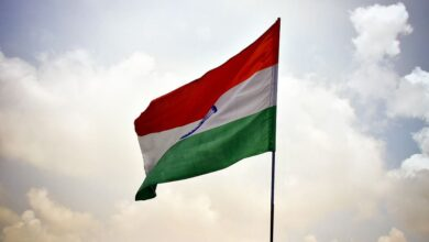 Photo of Owaisi's call inspires people to hoist tricolor atop homes