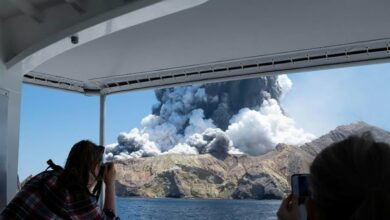 Photo of New Zealand: Five dead, many injured after volcano eruption
