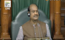 Speaker urges members to raise quality of questions in Lok Sabha