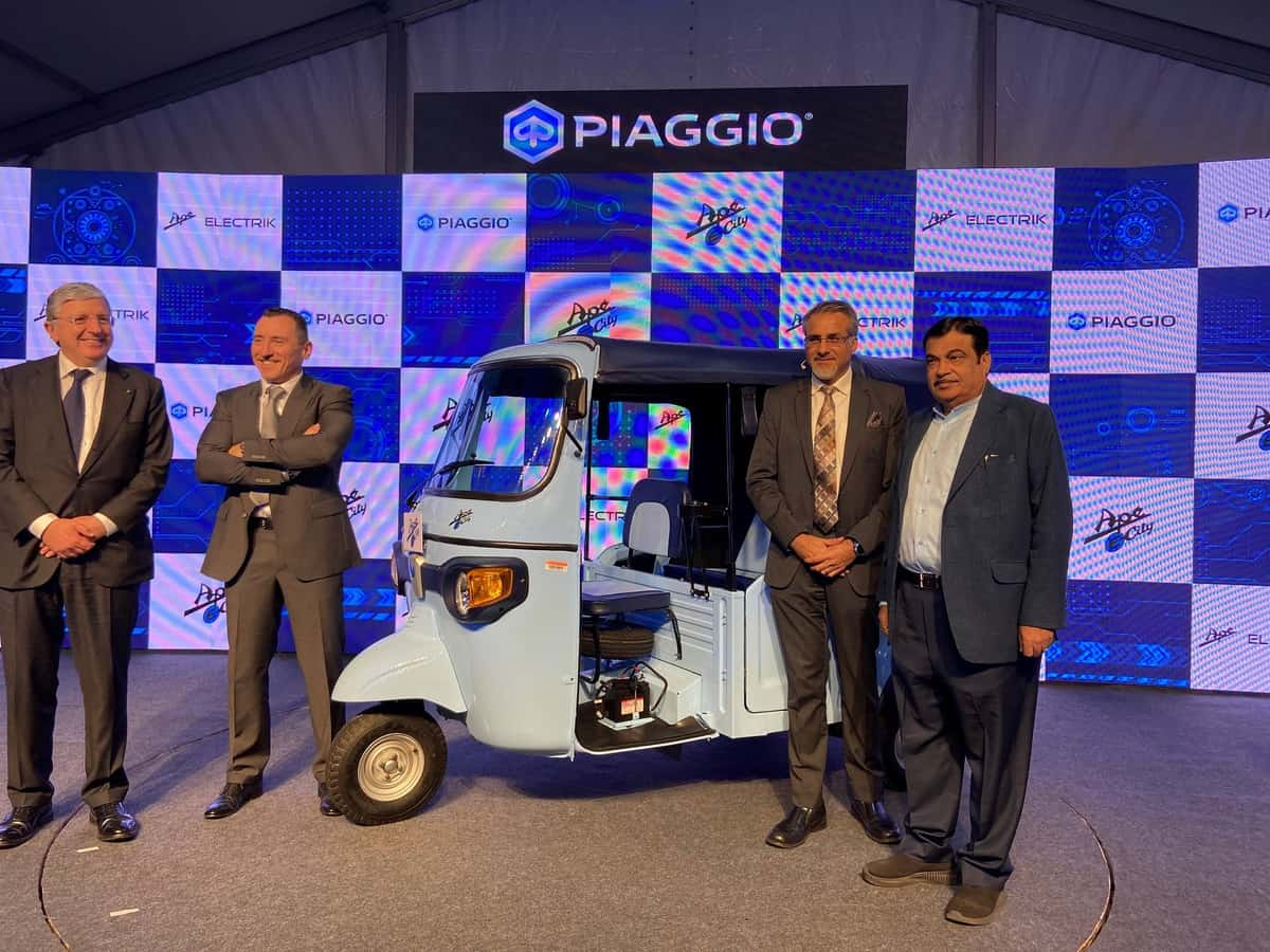 Piaggio launches Ape' Electrik
