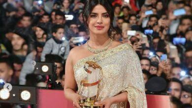 Photo of Desi girl Priyanka honoured at Marrakech Film Festival