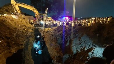Photo of Pune: NDRF recovers civilian body from Pune drainage hole