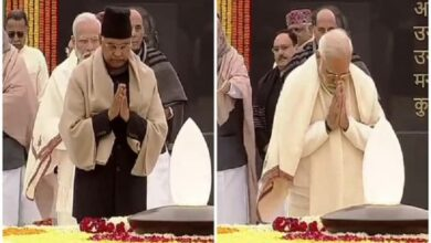 Photo of President, PM pay tributes to Vajpayee on his birth anniversary