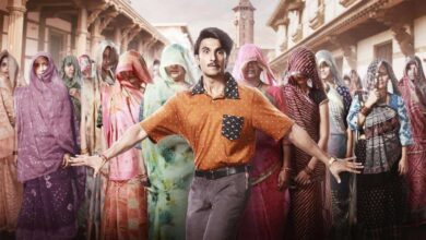 Photo of Ranveer Singh's first look from 'Jayeshbhai Jordaar'