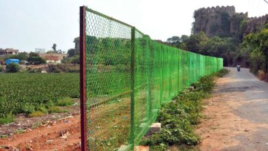 Photo of Saving Shah Hatim Talaab; GHMC erects fencing